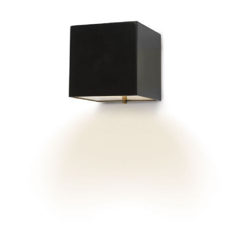 Bacchus Wall Matt Black LED IP44 BAC1522
